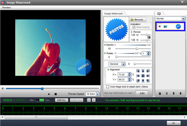 how to add your own watermark to a video