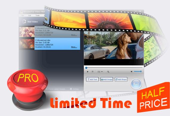 Video Watermark - Add Watermark to Videos in Batch